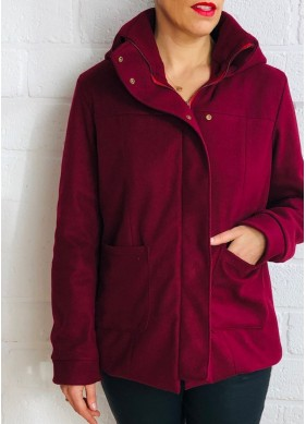 Women Sewing Pattern - 7th of October Coat - PDF
