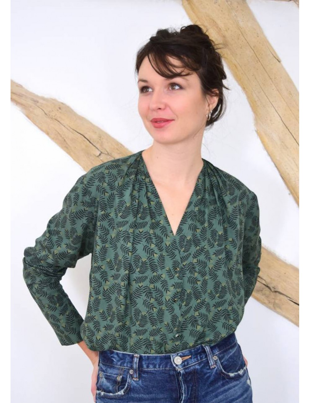 pattern blouse by wissew