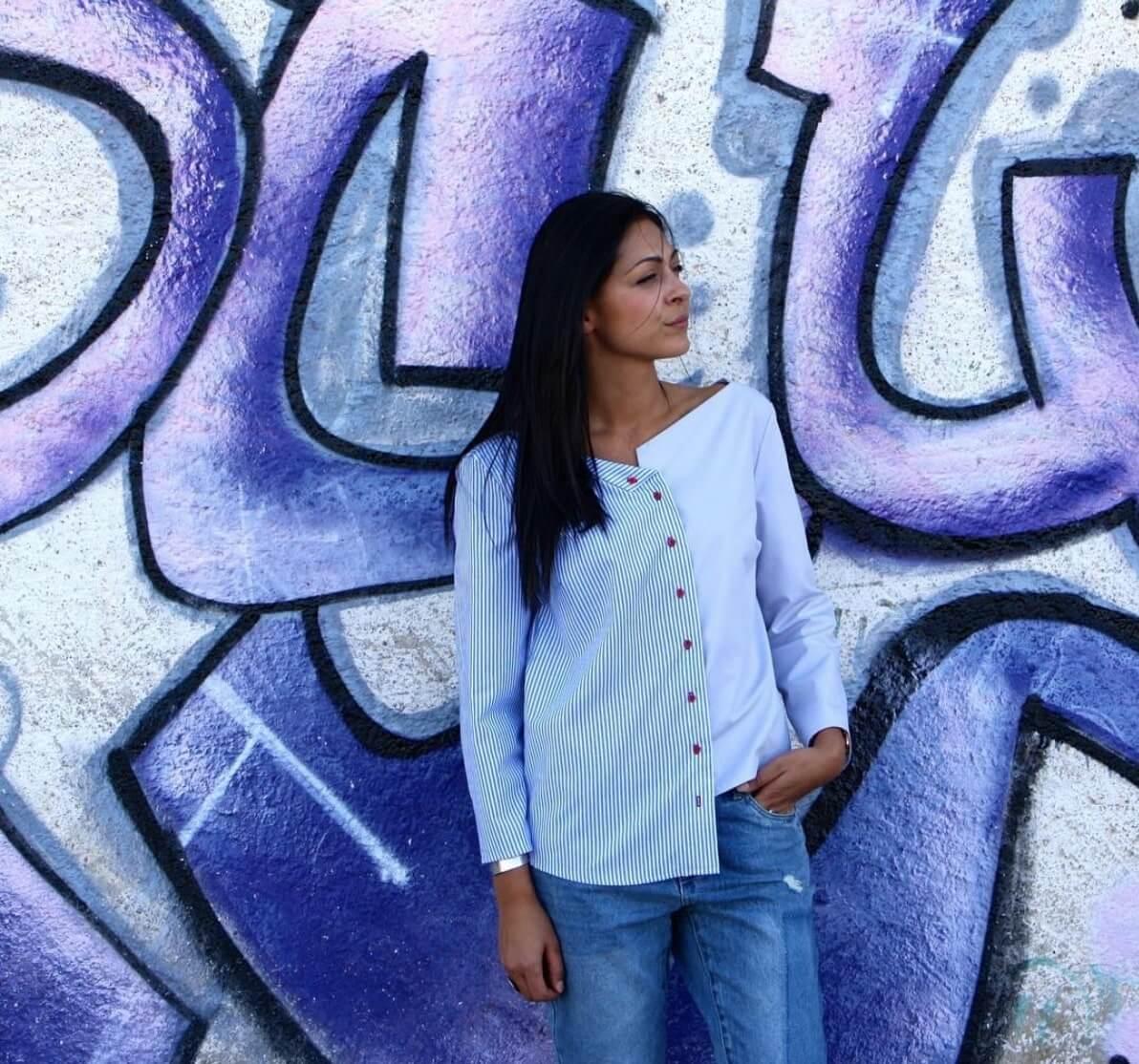 Patron couture Chemise de la créatrice Juliette Arfeuillere