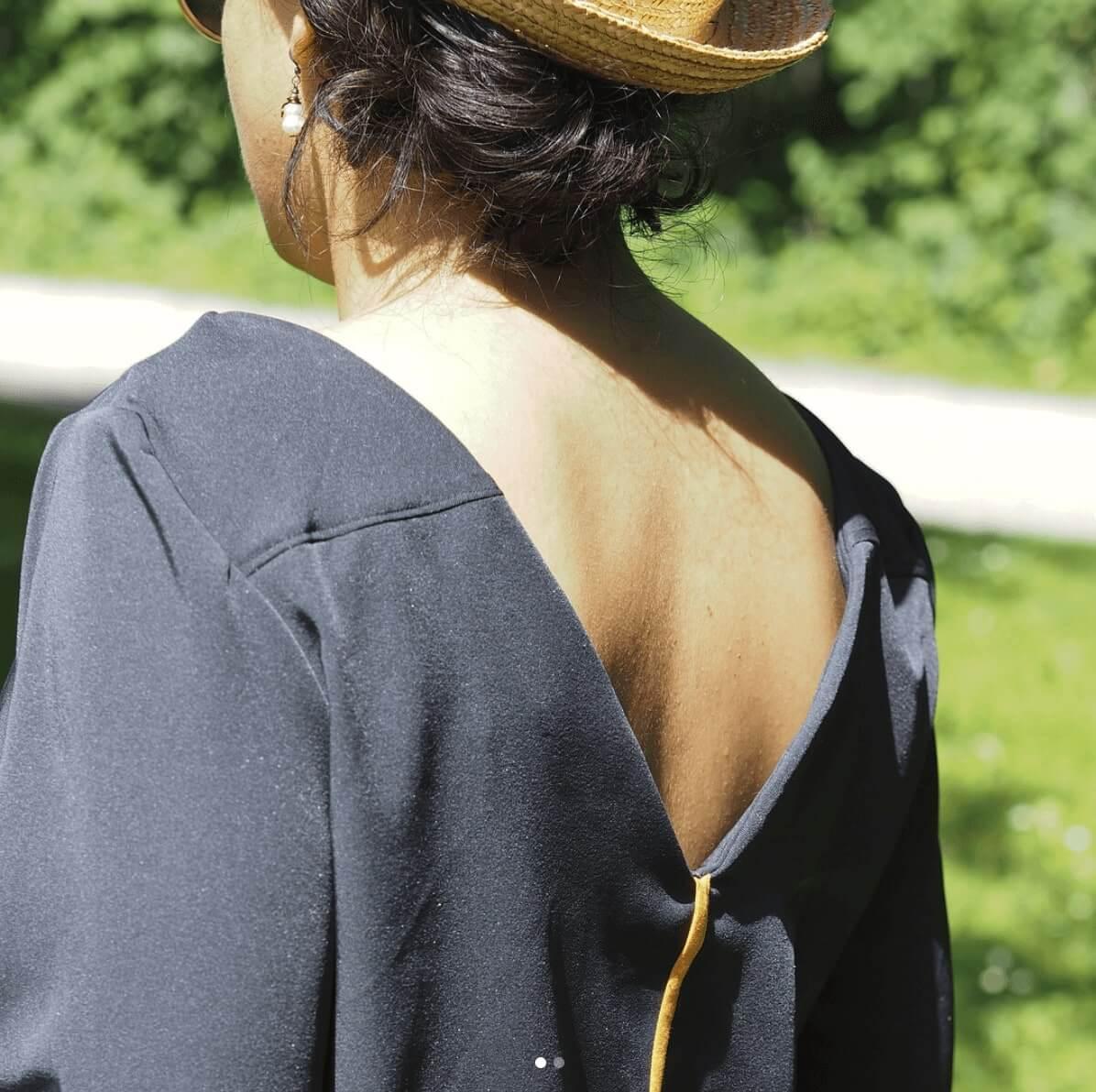 Chemise de la créatrice Juliette Arfeuillère